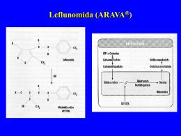 Leflunomida (ARAVA )