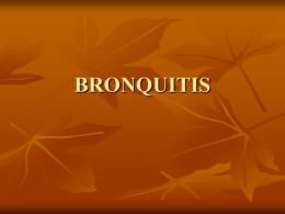 BRONQUITIS - Enfermeriavespertina's Blog