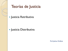 Justicia Retributiva - Villa Macul Academia