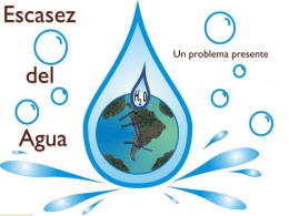 Diapositiva 1 - Inicio - Water, the new petrol