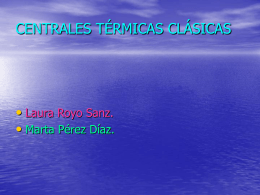 CENTRALES TERMICAS CLASICAS