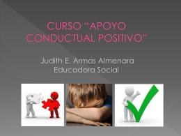 """CURSO """"APOYO CONDUCTUAL POSITIVO"""""""
