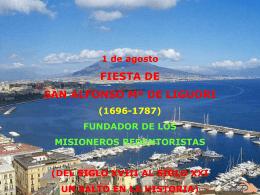 Fiesta de San Alfonso