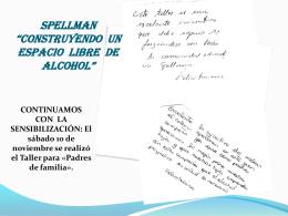 """SPELLMAN """"CONSTRUYENDO UN ESPACIO LIBRE DE …"""
