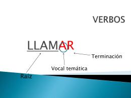 VERBOS - Licei Santa Maria
