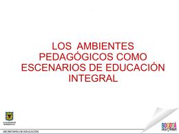 PLAN MAESTRO DE EQUIPAMIENTOS EDUCATIVOS (PMEE)