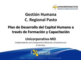 Plan Maestro Cierre de Brechas Unicorporativa