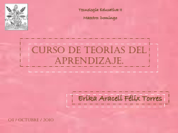 Diapositiva 1 - Tecnologia-Educativa-II