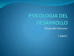 PSICOLOGIA DEL DESARROLLO - Psicologia-ib