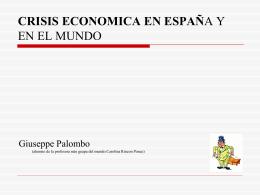 La crisis en espana - Loschicosdebelardo