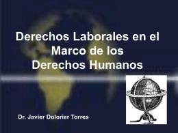 Derechos Laborales en el Marco de los Derechos Humanos
