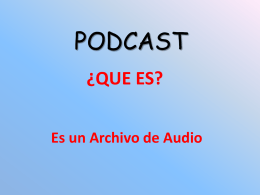 PODCAST - educacionweb