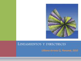 Lineamientos y directrices - Programa de las Naciones