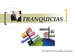 FRANQUICIAS - lucciolatrajtman