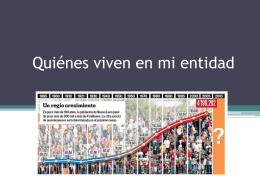 MEDIOS RURAL Y URBANO EN EL ESTADO