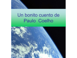Un cuento bonito de Paulo Coelho