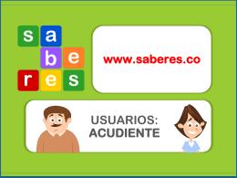 www.sistemasaberes.com www.saberes.co