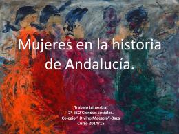 Mujeres andaluzas en la Historia