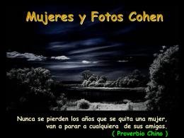 AG2- Mujeres y fotos Cohen