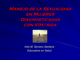Salud Sexual en Mujeres Diagnosticadas con VIH/sida