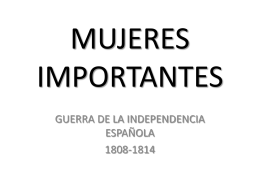 MUJERES IMPORTANTES