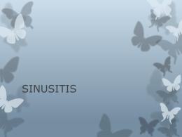 SINUSITIS - Clases y Libros