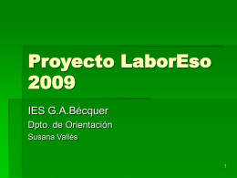 Proyecto Laboreso 2009