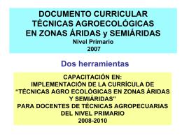 Escuela - Comunidad Las Huertas: laboratorio vivo.