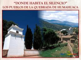 'DONDE HABITA EL SILENCIO' JUJUY