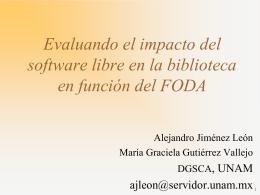 Implementando Software libre, una estrategia para la