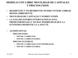 MODELOS CON LIBRE MOVILIDAD DE CAPITALES
