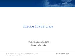 Precios Predatorios - Centro Libre Competencia UC