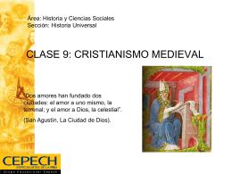 CRISTIANISMO MEDIEVAL