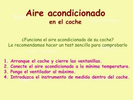 AG2- Aire acondicionado