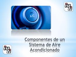 Componentes del Sistema de Aire Acondicionado …