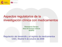 Diapositiva 1 - VATC-CSIC VICEPRESIDENCIA ADJUNTA DE