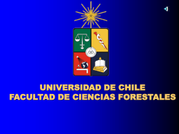 UNIVERSIDAD DE CHILE FACULTAD DE CIENCIAS …