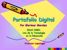 Portafolio Digital - SALUDMED: Ciencias del Ejercicio y de