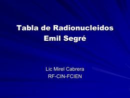 Diapositiva 1 - Centro de Investigaciones Nucleares, Uruguay