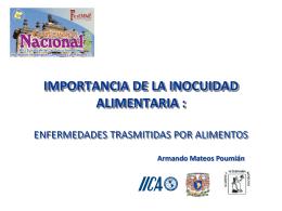 Diapositiva 1 - Facultad de Medicina Veterinaria y
