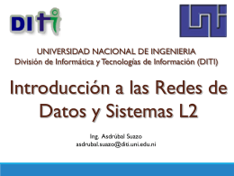 CISCO Ios Access List - UNI - Recinto Augusto C. Sandino