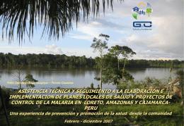 Diapositive 1 - :: G y C Salud y Ambiente SRL