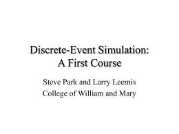 PowerPoint Presentation - Discrete
