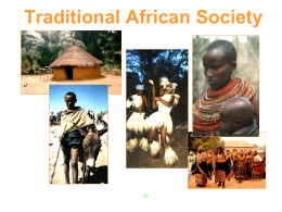 History and Geography of Africa