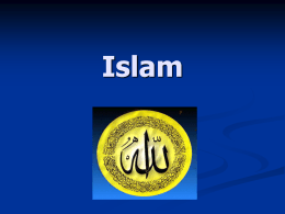Islam - Hempfield Area School District