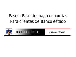 Paso 1 : Ingresar en www.bancoestado.cl y luego pinchar …