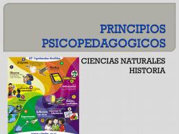 PRINCIPIOS PSICOPEDAGOGICOS