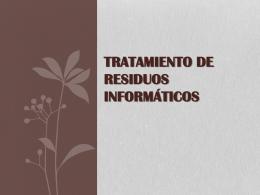 TRATAMIENTO DE RESID