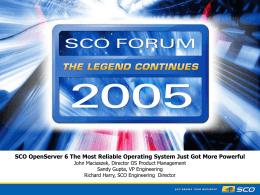 OSR6 Forum Presentation