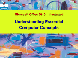 Microsoft Office 2007-Illustrated Introductory, XP Edition